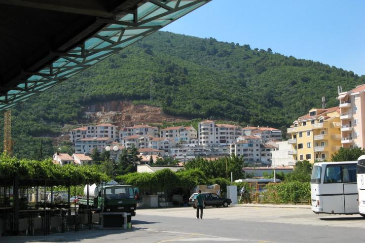 Bus station Budva